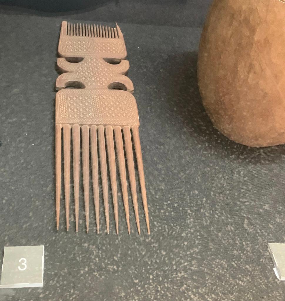 13th century afro pick
